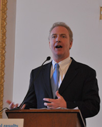 Rep. Chris Van Hollen speaking