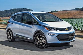 The 2017 Chevrolet Bolt EV (Photo courtesy of Chevrolet)