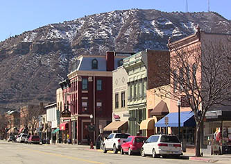 Historic main street in downtown Durango, where La Plata Electric Association is based (Photo credit: Durango Web Creations).