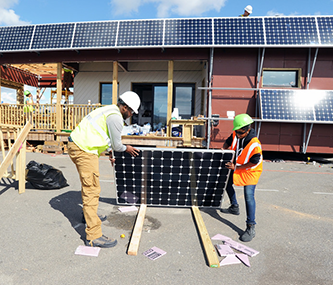 Photo credit: Department of Energy Solar Decathlon