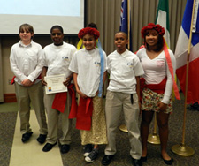 These students from the Junior U.N. Assembly of Alabama chose EESI as their beneficiary