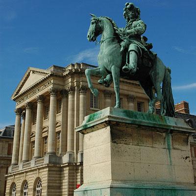 Louis XIV shows the way