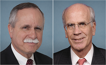 Representatives David B. McKinley, P.E., (R-WV) and Peter Welch (D-VT)