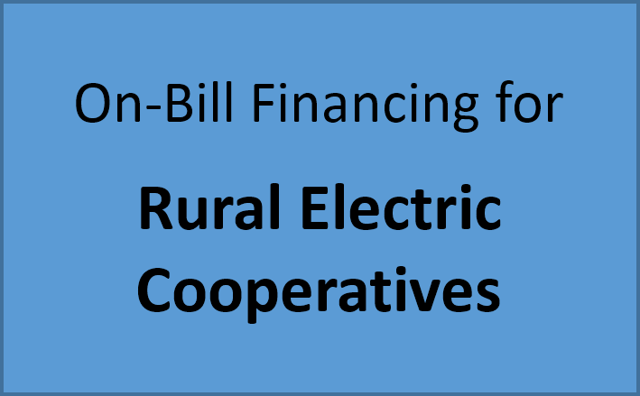 Button - On-Bill Financing for Rural Electric Cooperatives