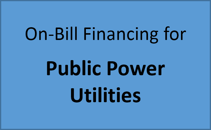 Button - On-Bill Financing for Public Power Utilities