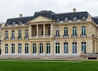 OECD's headquarters, the Chateau de la Muette in Paris (photo by Velvet)