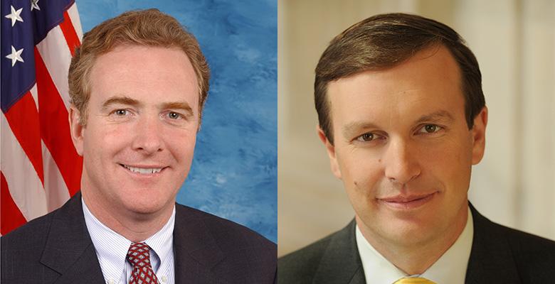 Rep. Chris Van Hollen (left) and Sen. Christopher Murphy.
