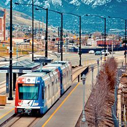 Salt Lake City's new light rail line