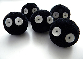 Deceptively adorable soot particles - Courtesy: Kate Mccurrach