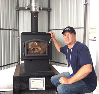 Variable Choke Venturi (VcV) technology from New Zealand improves combustion in wood stoves without the need for sensors